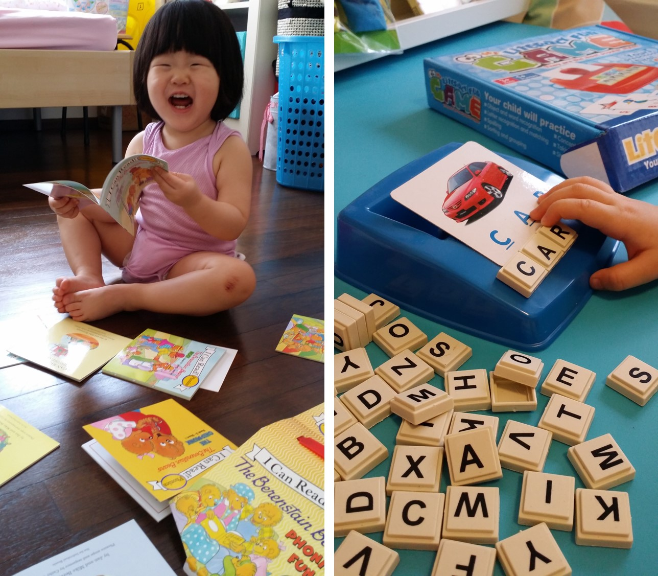 Engage Your Toddler in Reading and Words