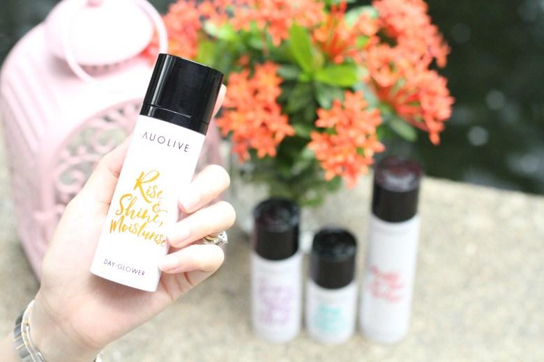 Singapore skincare brand Auolive
