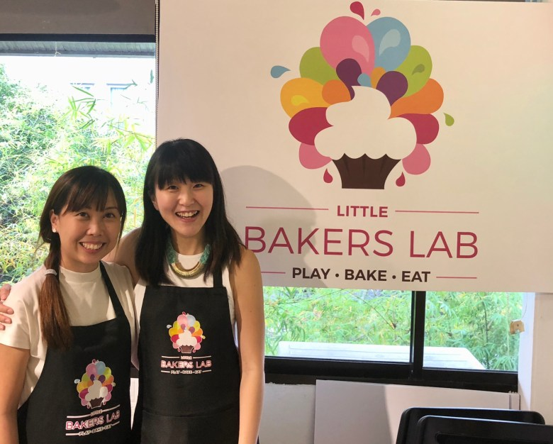 review kids class Little Bakers Lab