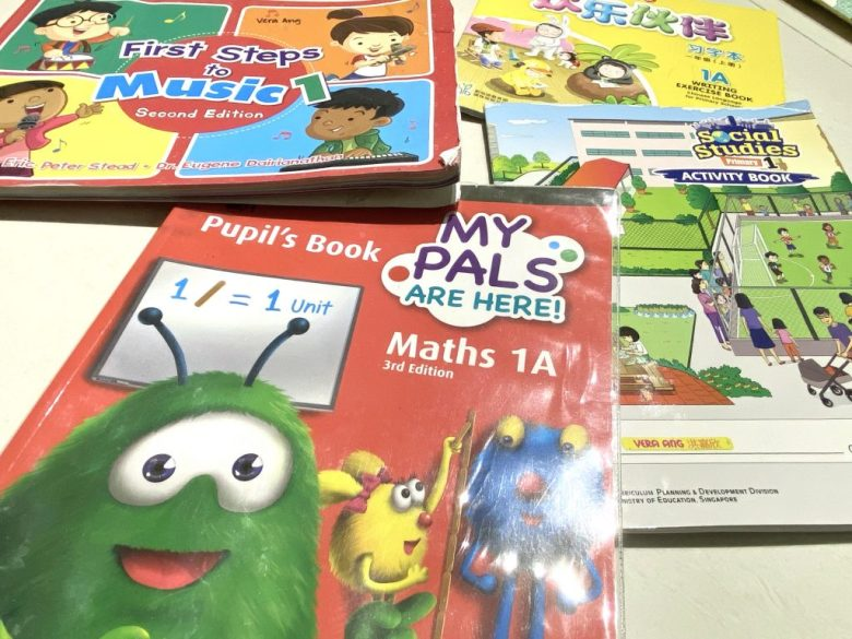 primary 1 textbooks for singapore schools