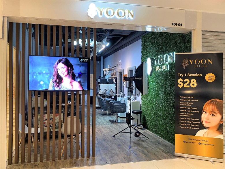 review YOON salon best hair salon near me