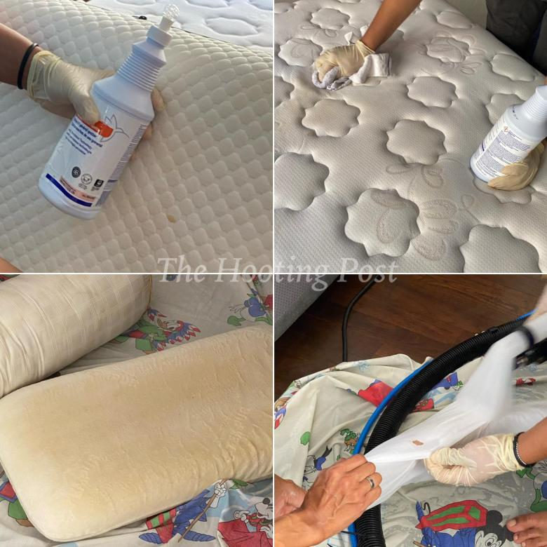 removing stubborn stains by professional cleaners