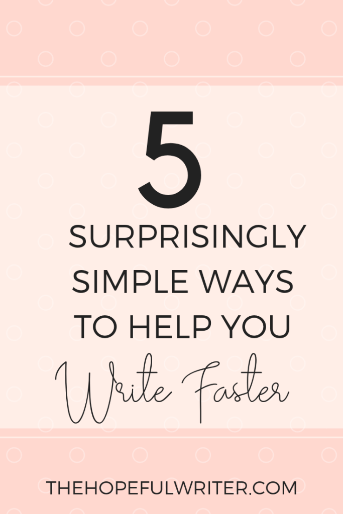 If you could learn how to write faster and create blog content more quickly, what would that mean for me? Check out these practical steps to help you write faster.