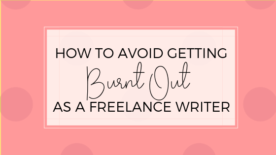 Freelance writing is an excellent option for stay-at-home moms, but there are a few things I did wrong. Check out these tips on how to avoid getting burnt out as a freelance writer.