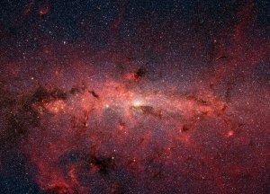 milky way, space, universe