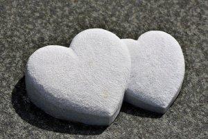 heart, stone hearts, stone