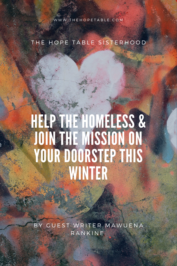 Prayerful and practical Ways to help the homeless and rough sleepers in your community