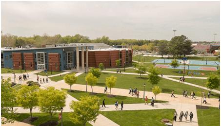 Map of Delaware State University Campus - WBOC-TV 16, Delmarvas News  Leader, FOX 21 -