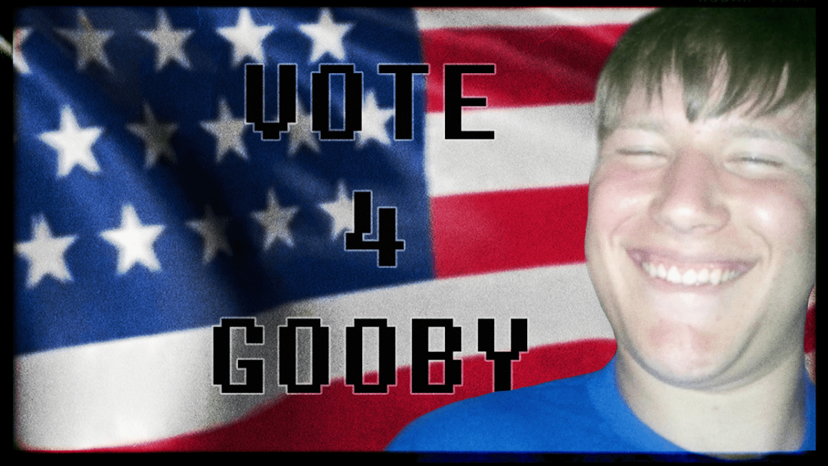 Vote Gooby For Senior Class President