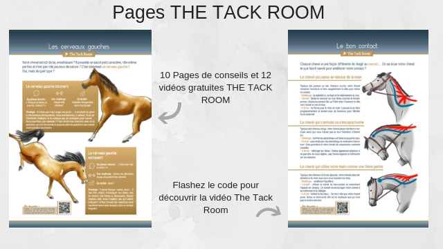 Les pages The Tack Room