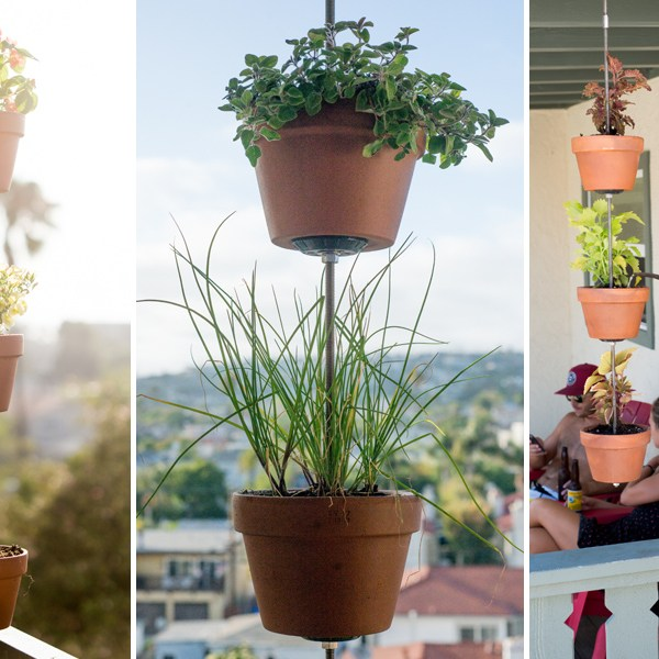 How to Turn Your Clay Pots Into a Vertical Garden