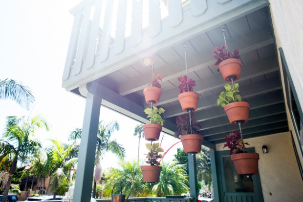 Apartment Balcony Decor Small Patio Hanging Plants Pots Privacy Vertical Gardens