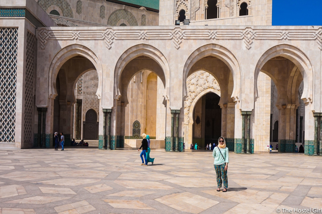How to Dress in Morocco - Casablanca Mosque