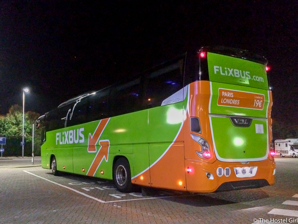 Travelling Europe By Bus: FlixBus Review (London to Paris to