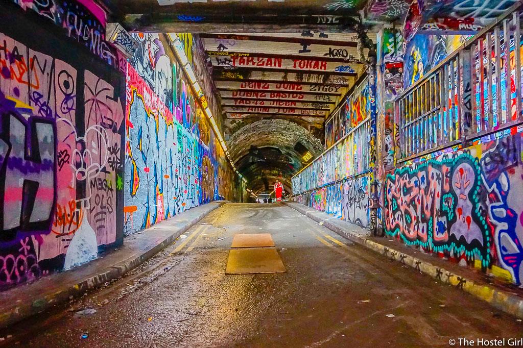 Leake Street Graffiti Tunnel How To Find Secret London Art