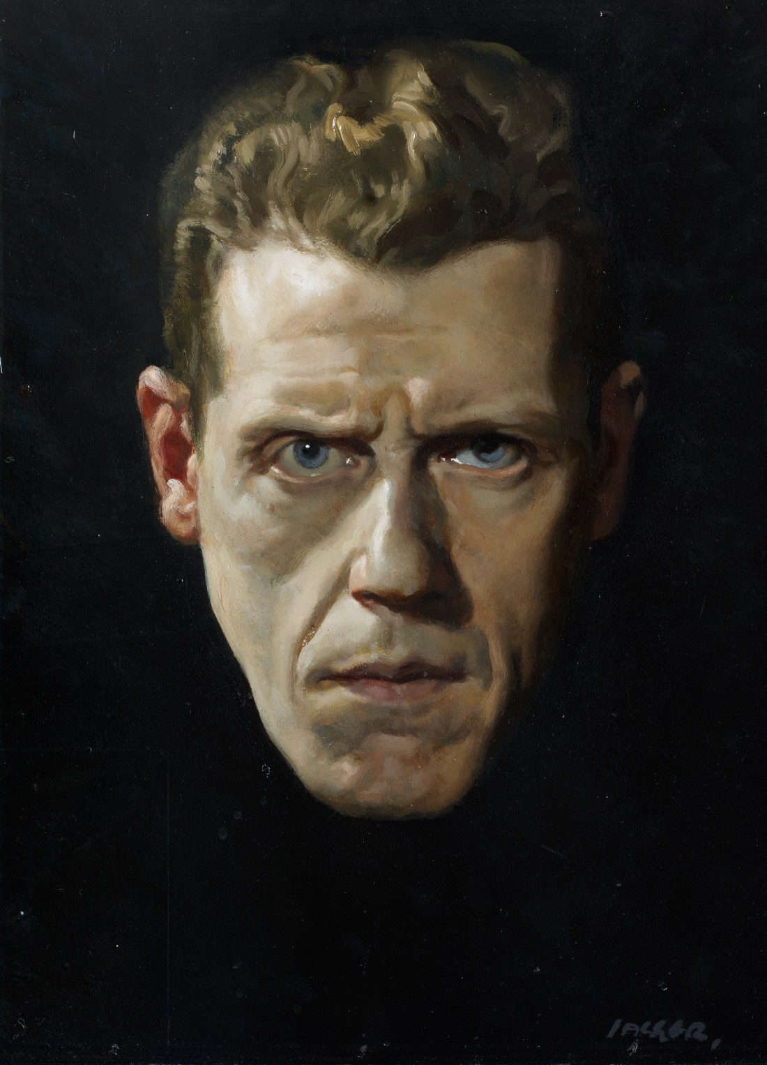 A self-portrait by David Jagger, painted in 1928.