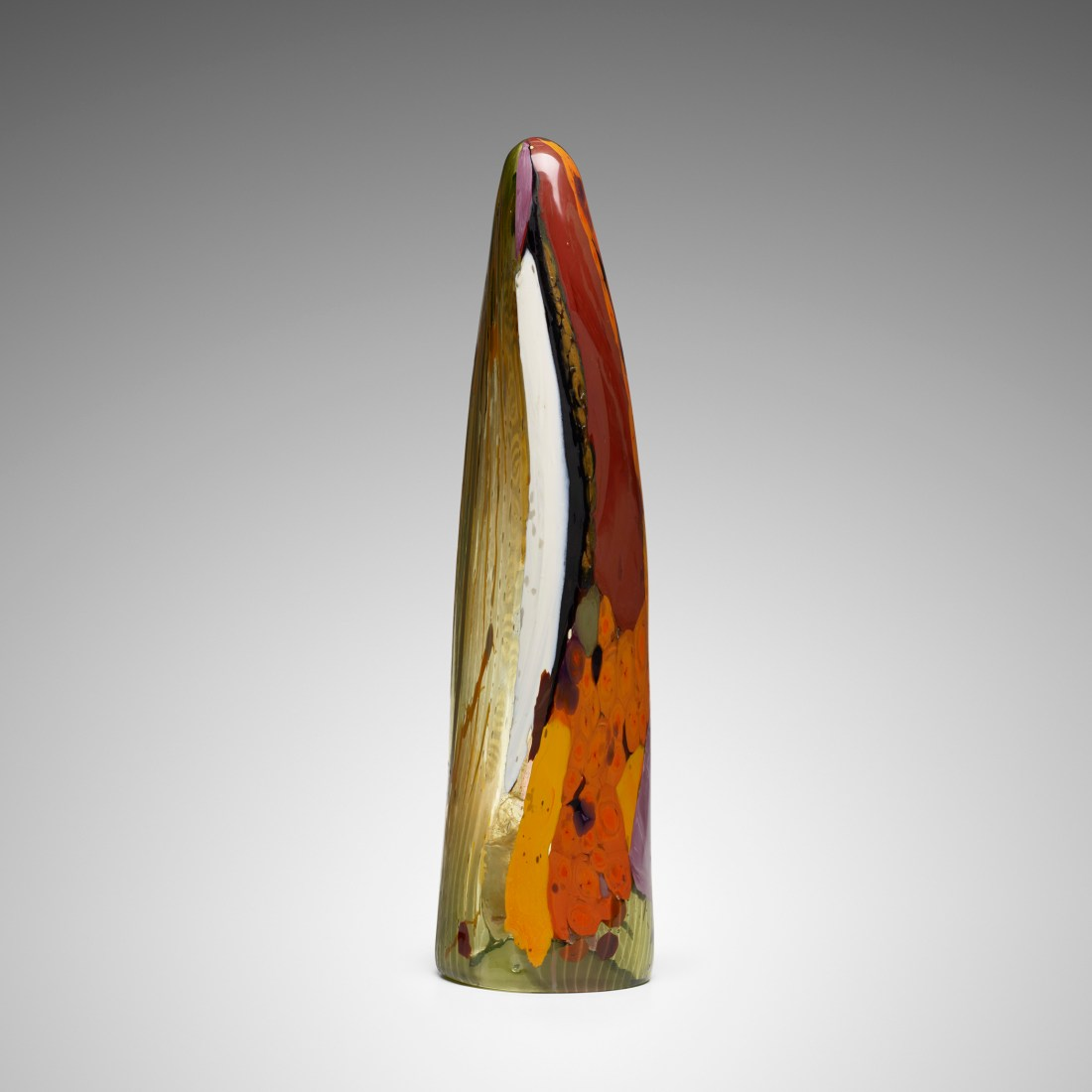 One of the three elements of La Sentinella di Venezia (The Sentinel of Venice), a 1962 glass sculpture by Thomas Stearns.