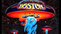 Boston spaceship on album cover