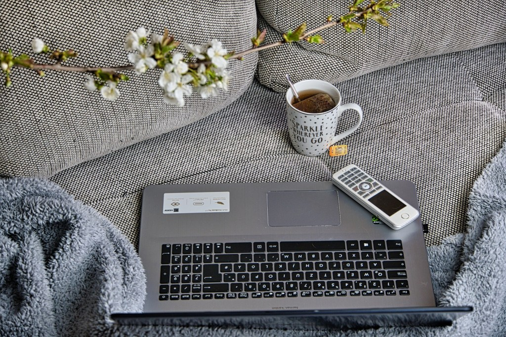 Working from home, office space