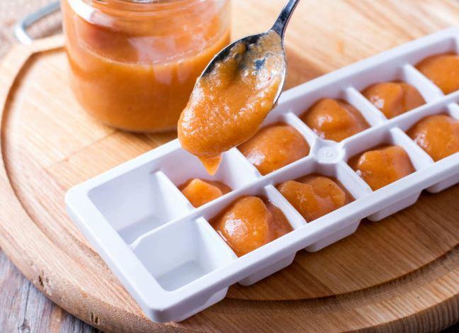 Ice tray, baby food