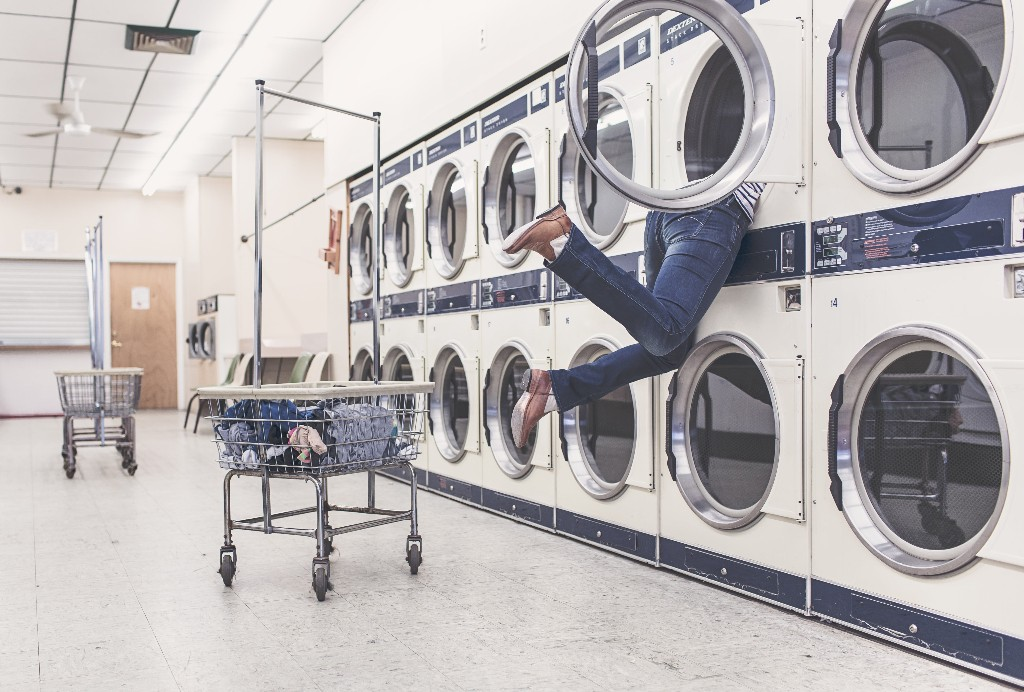 words, laundry