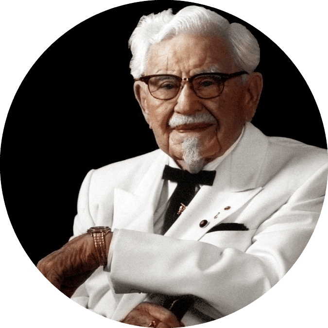 Occupations, Colonel Sanders