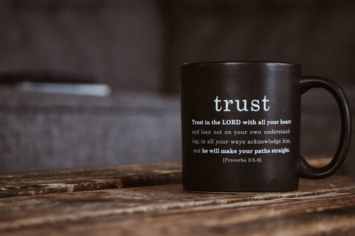 tips to help, trust in the Lord coffee cup