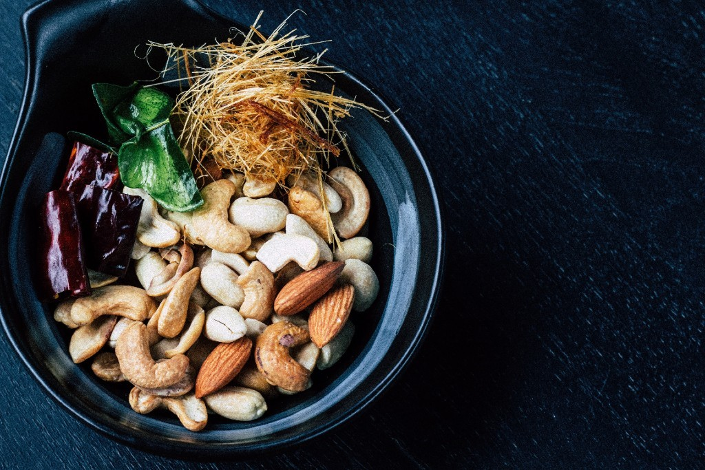 Nuts, smart snack