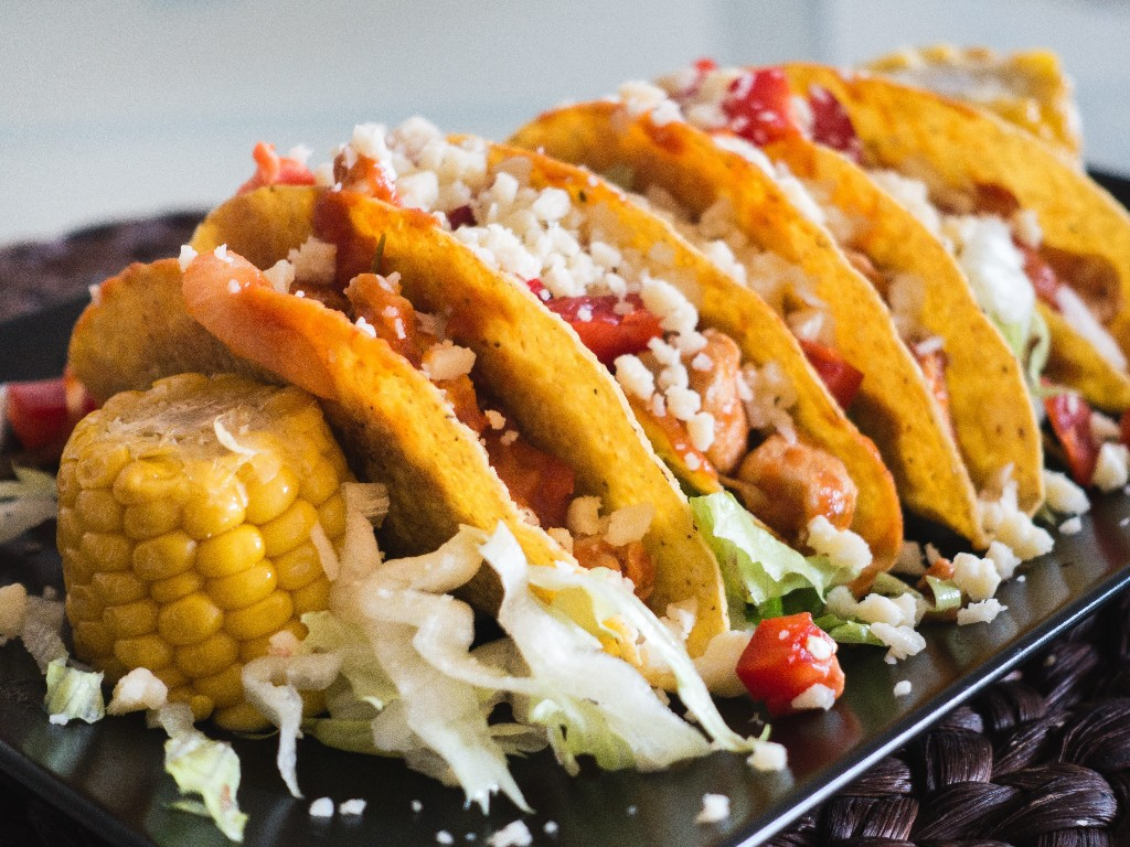 Microwave Tacos