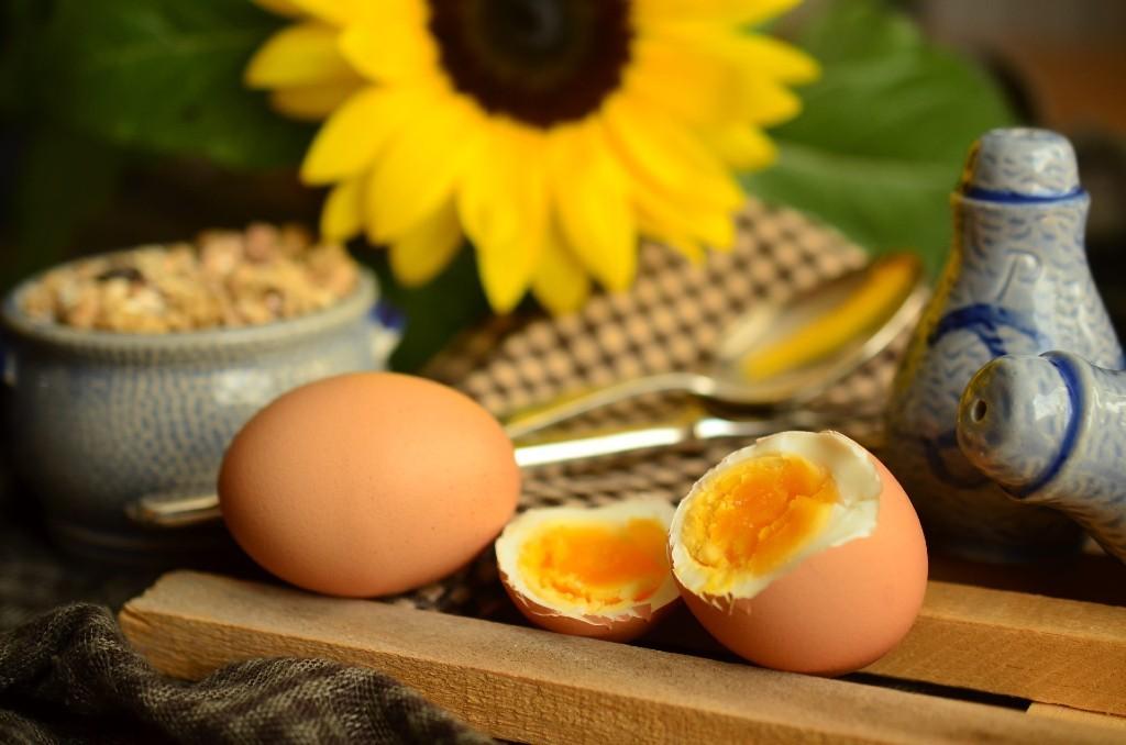 Boiled egg snack