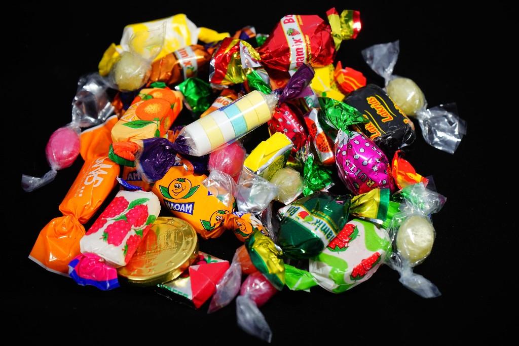 Limit calories wrapped candies