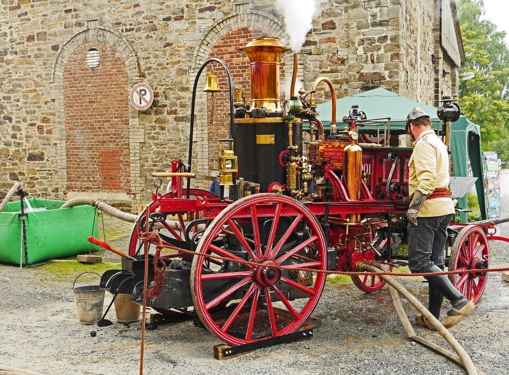 Economy Fire wagon without horses