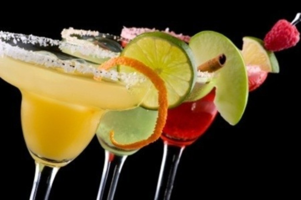 Alcoholic drinks cocktails -- The Hot Mess Press