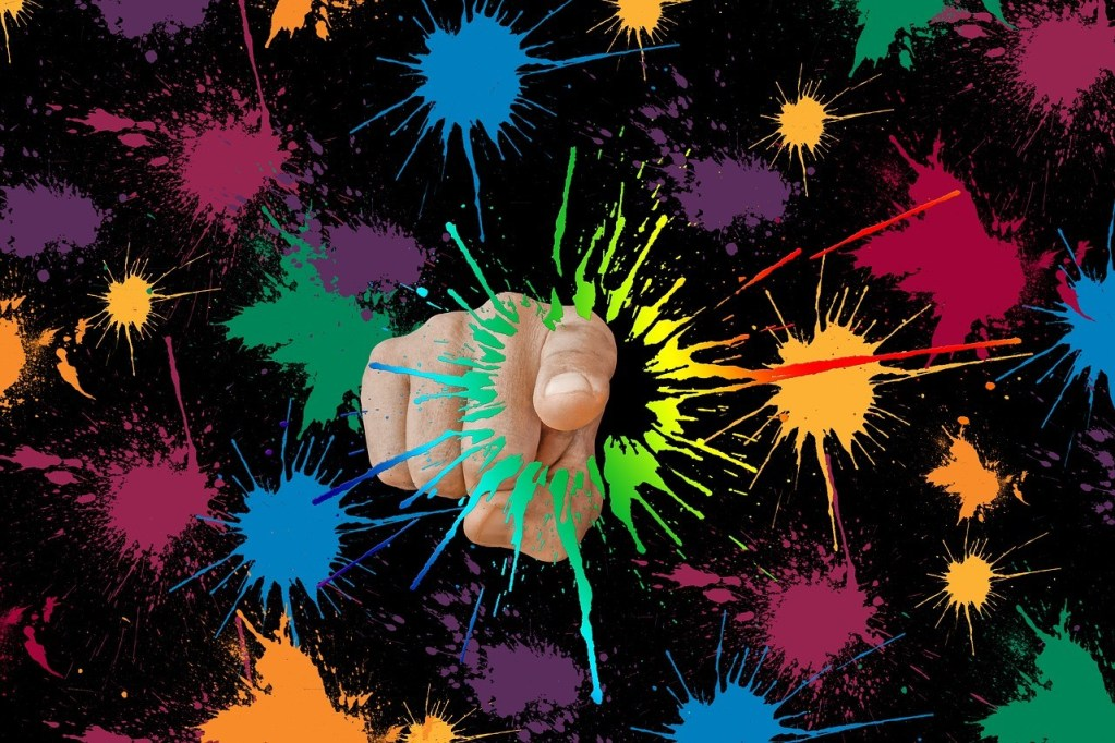 Germs Touch screen --The Hot Mess Press