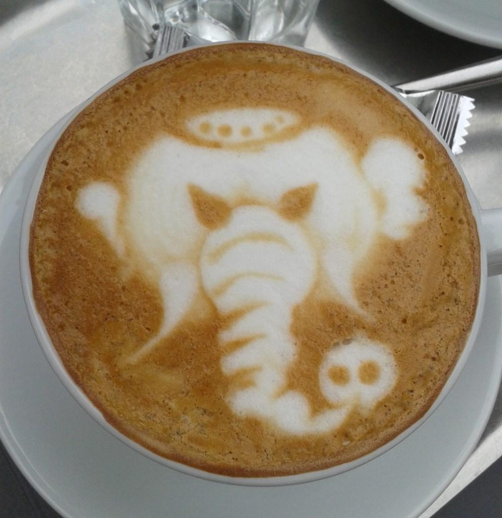 Decorative design on Coffee