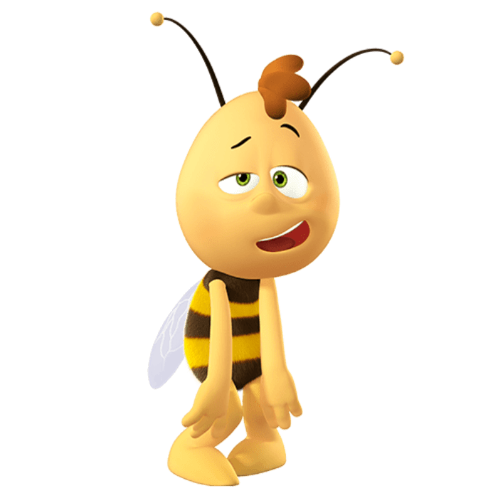 Tired bee needs rest