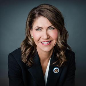 Governor Kristi Noem, headshot image
