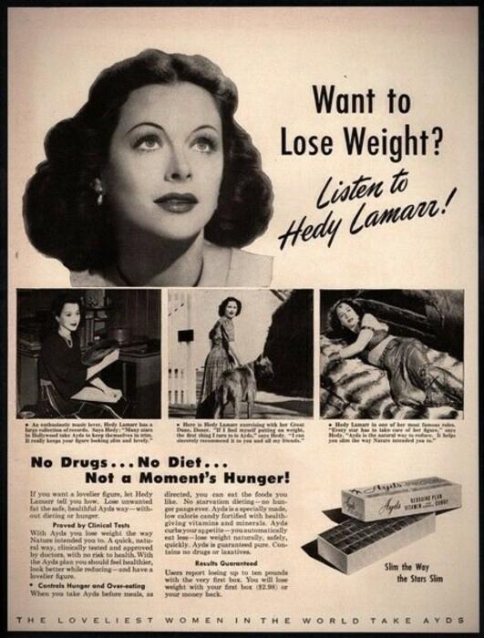 Diet AYDS advertisement