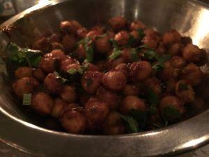 healthy recipe ideas, bowl of chickpeas