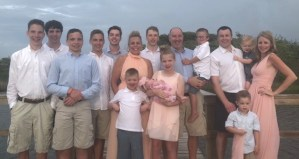 parenting, big family picture