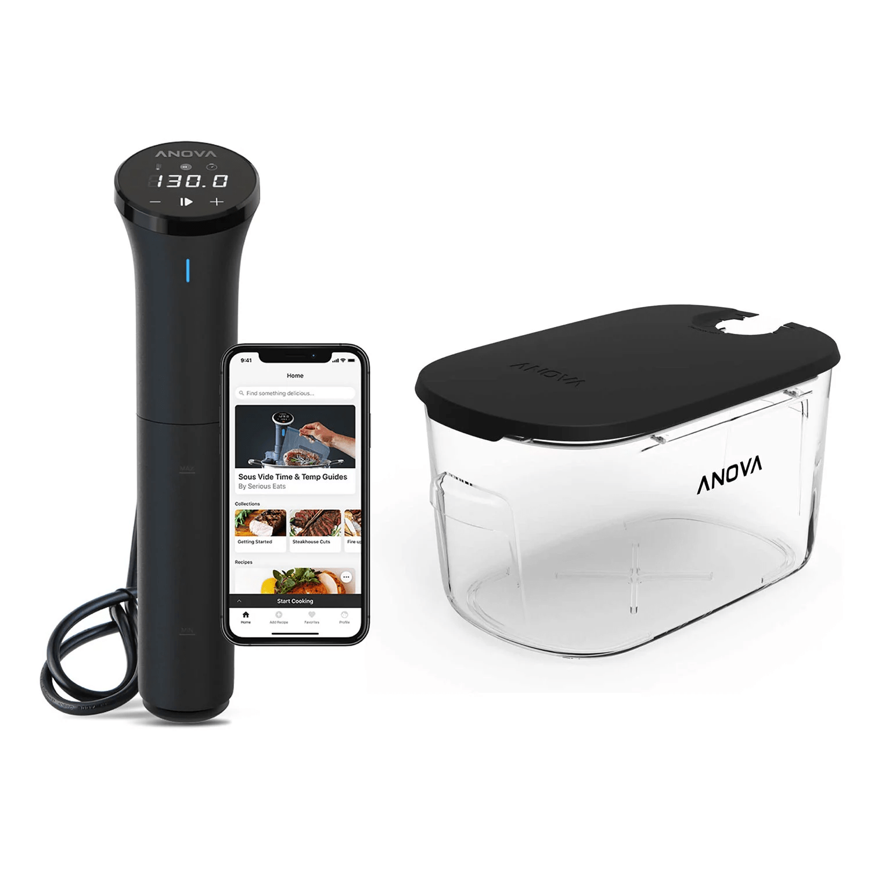 sous vide, pressure cooking kit