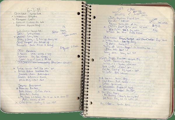 19890603 Setlist Notebook.png
