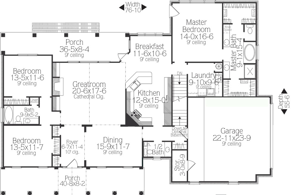 What Makes A Split Bedroom Floor Plan Ideal?