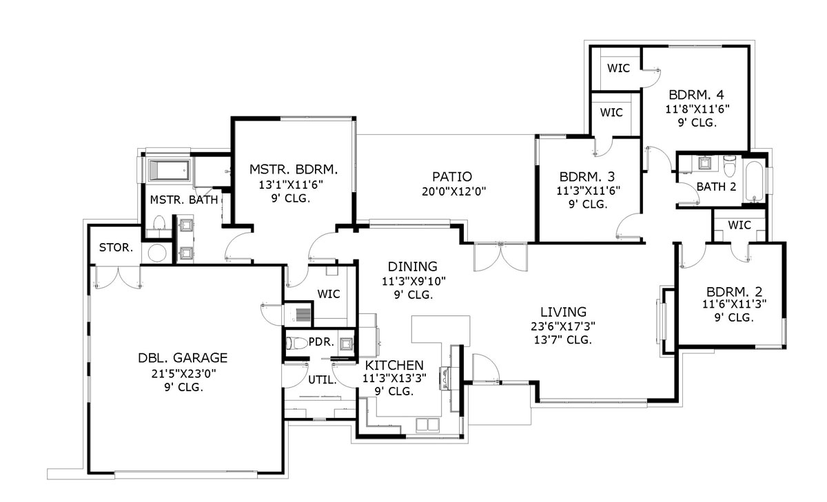 Usonian 6274 - 4 Bedrooms And 2 Baths