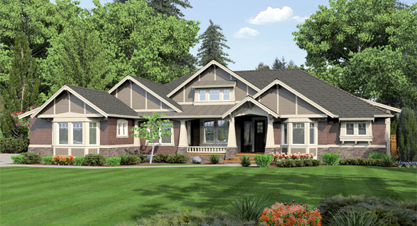 Featured House Plans: One-Story Plans