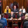 Commissioners appointed by the Governor to open Parliament
