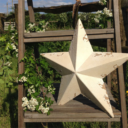 Antique White Star