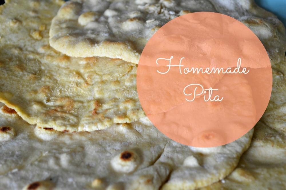 homemade pita