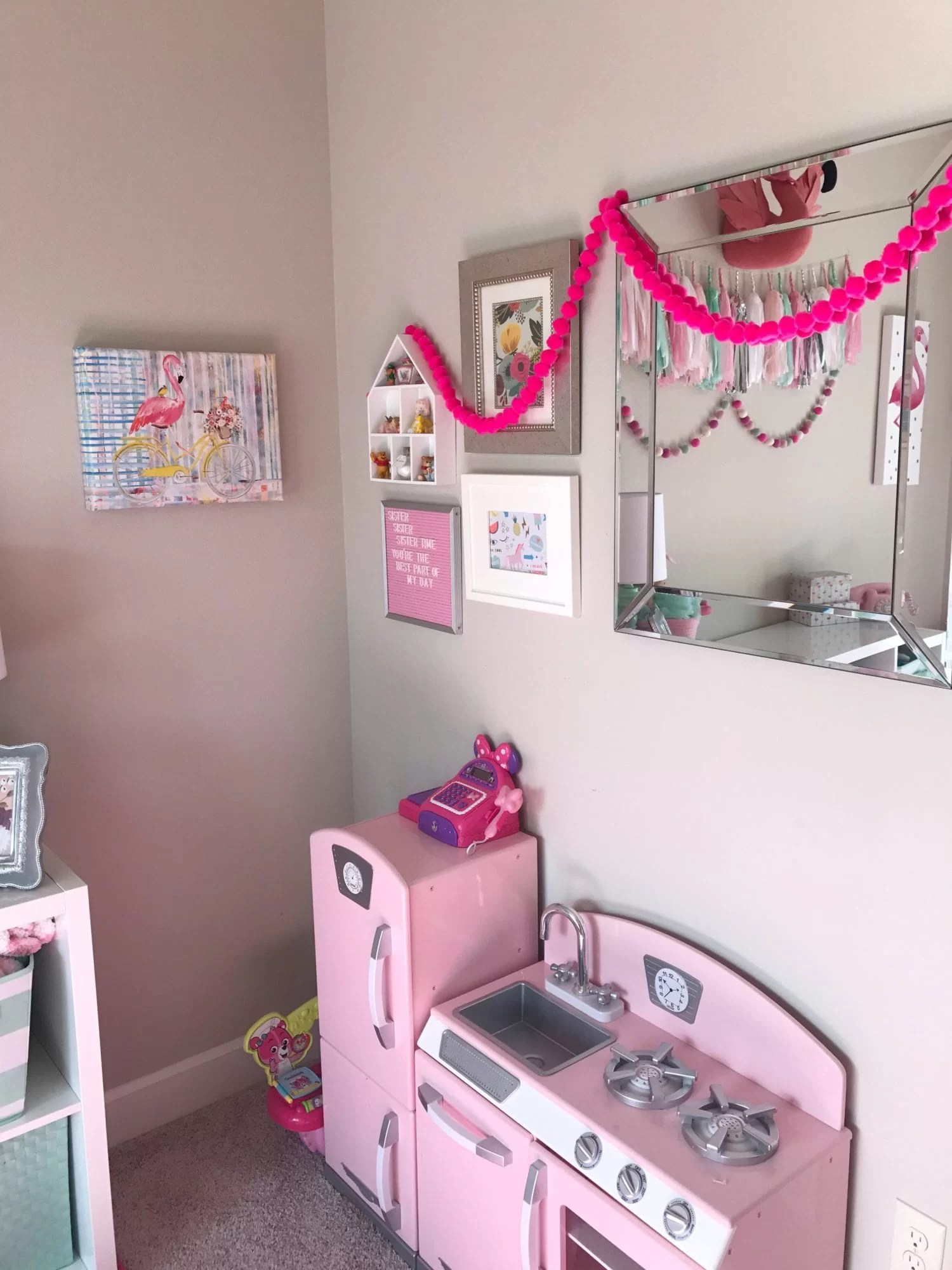 Girly Playroom, Toddler Play Room