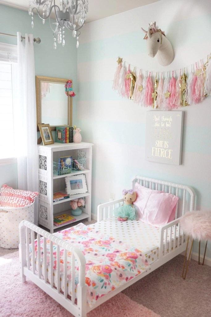 pink toddler bedroom toddler room refresh the house of 12889